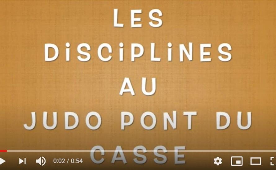 Les disciplines au JUDO PONT-DU-CASSE